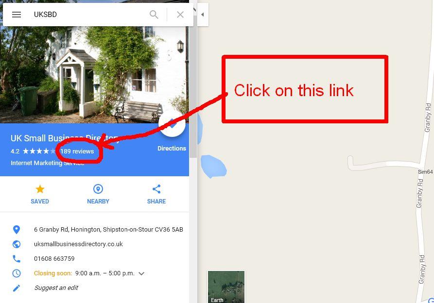Find your Google Maps CID Number