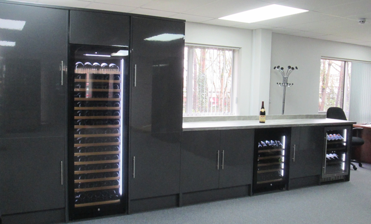 See Built in Wine Cabinets on Display
